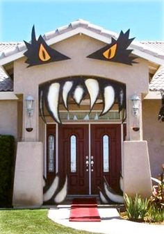 51 Scary Halloween Garage Door Decorating Contest, Door Halloween ...