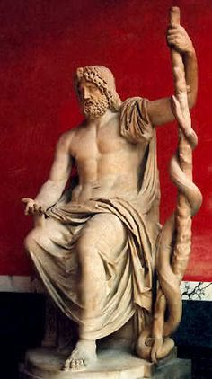 Asclepius, god of medicine and healing