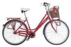 Dámské retro kolo Cossack Livorno 7, červené Retro, Bicycle, Vehicles, Bike, Bicycle Kick, Bicycles, Car, Retro Illustration, Vehicle