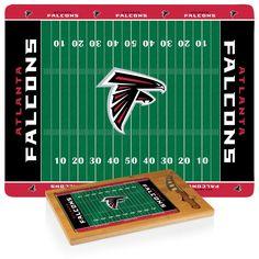 Atlanta Falcons 3-pc cheese cutting board