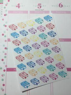 40 Bible Stickers for Erin Condren Life Planner, Plum Planner, Filofax