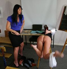 Lover erotic caning