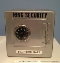 Ring Security Ringbearer gift Ring Agent Ring by PersonalizedMom, $12.95