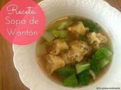 Receta de sopa de wantón china perfecta para el frío