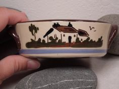 SALE English Torquay Pottery Dish with by RaspberryHillVintage, $10.00