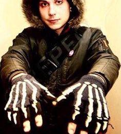 we have the same gloves