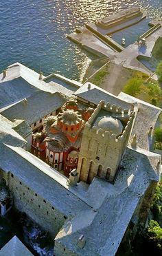 St Dionysiou Monastery (Agion Oros), Mount Athos, Greece