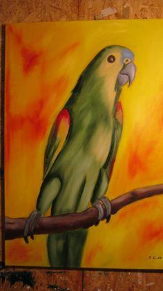 Blaustirnamazone von Village Gallery auf DaWanda.com