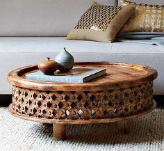 West Elm Mango Wood Coffee Table. Sigh.