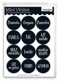 Resultado de imagen para etiquetas de condimentos para imprimir Free Printables, Decorative Plates, Eyeshadow, Beauty, Kit, Google, Spice Jars Glass, Printable Labels, Labels For Jars