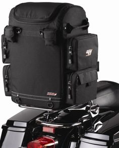 Nelson Rigg CTB350 motorcycle sissy bag. Designed to attach to most sissybars or backrests. Your price $134.95 with Free Shipping!