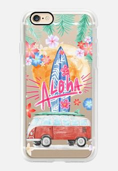 Casetify iPhone 7 Case and Other iPhone Covers - Aloha Hawaii by Sara Eshak | #Casetify