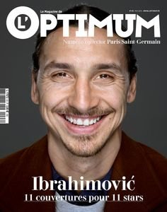 #PSG #ZLATAN #IBRAHIMOVIC #OPTIMUM #COVER #PARIS #2014