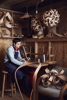 Tom Raffield – Hand made – Steam Crafted Furniture Projects, Furniture Plans, System Furniture, Plywood House, Tom Raffield, Steam Bending Wood, How To Bend Wood, Bent Wood, Wooden Crafts