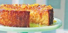 Περσικό κέικ πορτοκάλι-αμύγδαλο