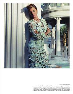 Daria Werbowy in Vogue Paris February 2012 3
