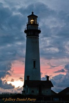 Pigeon Point Lighthouse Sunset Clouds   Flickr - Photo Sharing!