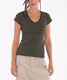 This Black Guess Merak Tee is perfect! #zulilyfinds