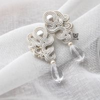 Biżuteria ślubna z sutaszu AGAM
