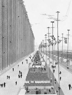 Bartlett graduate Ned Scott's dark take on The Garden Cities of Tomorrow