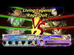 Living Legend Rage Quit Dbfz Ranked Youtube Rage Quit Living Legends Rage