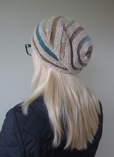 A very cool project to keep you warm...Ravelry: Zanetta's Wurm / Rikke Hat (Improvised)