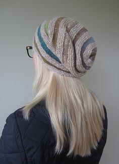 Ravelry: Zanetta's Wurm / Rikke Hat (Improvised)