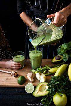 Homemade Protein Shakes, Easy Protein Shakes, Protein Shake Recipes, Healthy Recipes, Weight Loss Smoothies, Healthy Smoothies, Pregnancy Smoothies, Smoothie Detox, Polish Recipes