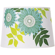 Lights Up! Camilla Meijer Green Anna Shade 12x14x10 (Spider) - #M9688 | Lamps Plus
