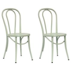 Emery Metal Bistro Chair Set Of 2 Threshold Target