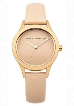 French Connection - Uhr - beige