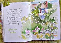 Art Journal - Watercolor - Catherine Carey