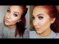 Cream Contour & Highlight - Demo | Favorites | Tips & Tricks | Jaclyn Hill - YouTube