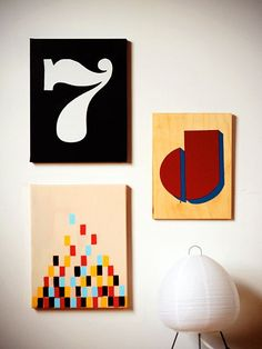 Our Favorite DIY Wall Art -- Instant Graphic-ation