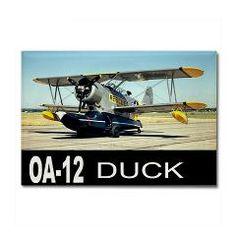 OA-12 DUCK FLYING BOAT Rectangle Magnet