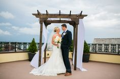 Stephie Joy Photography : Jacksonville and St. Augustine Florida Wedding and Lifestyle Photography » Jacksonville and St. Augustine Florida Wedding and Lifestyle Photography brode groom pergola wedding roof top