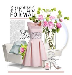 """""""Spring Formal"""" by alyssumfield ❤ liked on Polyvore featuring LSA International, Miu Miu, Gianvito Rossi, Marc Jacobs, Kenneth Jay Lane and springformal"""