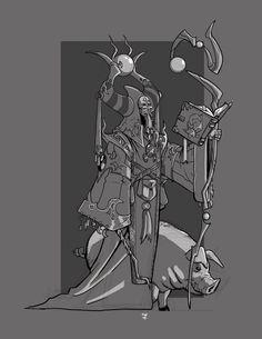 Magic User by cwalton73 on DeviantArt