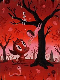 the deflowering by gary baseman