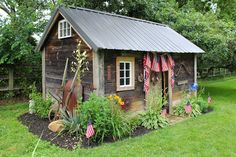 ~Ohio Thoughts~: Turning an old Chicken Coop into a camping cabin