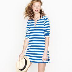 Striped tunic dress.