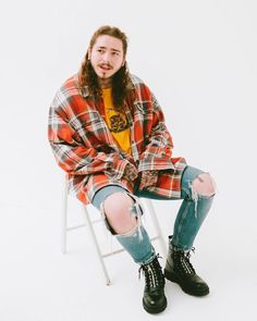 """923 Likes, 11 Comments - Post Malone (@postybae) on Instagram: """"📸 by @hairgamejesus #postmalone"""""""