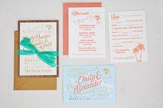 Destination wedding invitations Turks & Caicos @Shindig Invitations  @ever swoon   tamra sanford