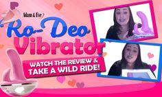 Ride On Sex Toys | Take A Wild Ride on RO-DEO Riding Vibrator