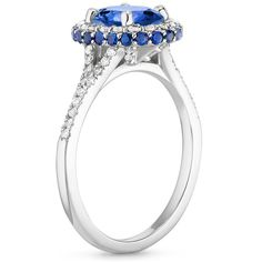 "What is a ""surprise"" detail on an engagement ring? It's a special element, like a surprise diamond, that you can't see from the top view of the ring, or don't notice unless you're looking very closely."