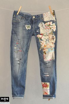 Hey, I found this really awesome Etsy listing at https://www.etsy.com/il-en/listing/522244775/patched-denim-patched-jeans-reworked