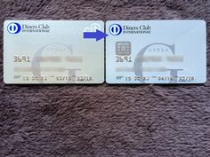 IC Tip Ginza Diners Club Card 201605 6