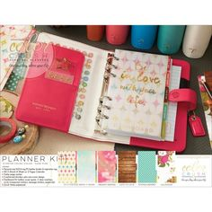 Webster's Pages Personal Planner Kit - Dark Pink