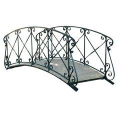20th Century French Garden Bridge