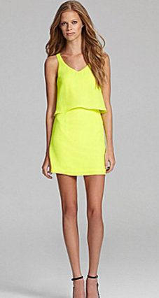 dolce vita yellow dress. obsessed.
